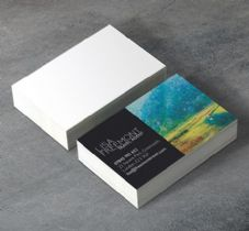 Business cards 400gsm silk matt laminated business cards colourmoves Image collections